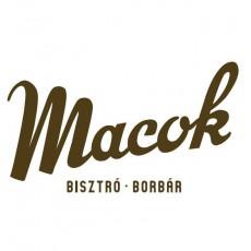 Macok Bisztró és Borbár logó
