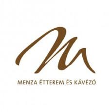 Menza Étterem logó