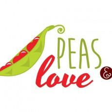 Peas & Love Ételbár logó