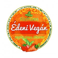 Édeni Vegán logó