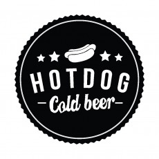 Hot Dog Cold Beer logó