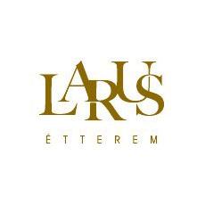 Larus Étterem logó