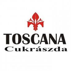 Toscana Cukrászda logó