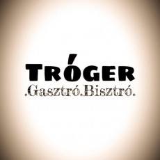 Tróger Bisztró logó