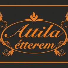 Attila Étterem logó