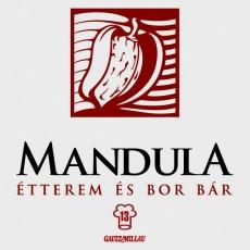 Mandula Étterem logó