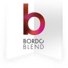 Bordó Blend logó