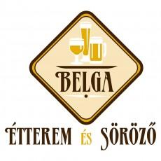 Belga Étterem és Söröző logó