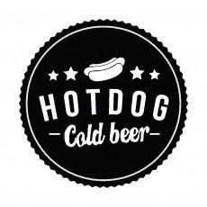 Hot Dog Cold Beer logó