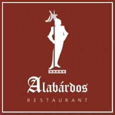 Alabárdos Étterem logó