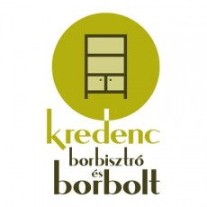 Kredenc Borbisztró logó