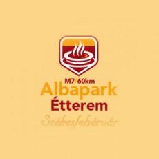 Albapark Étterem logó